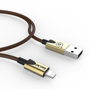 Charcoal - Gold MFI Cable small
