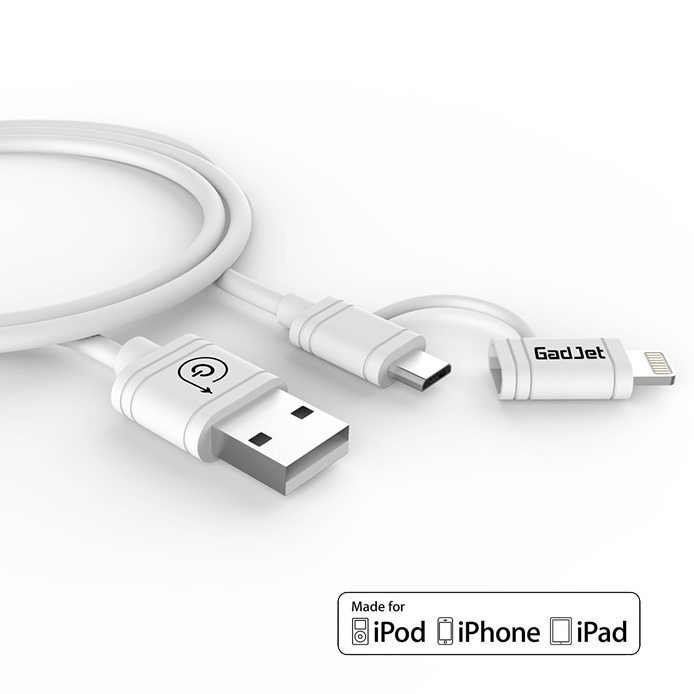 2 in 1 Lightning Micro Cable
