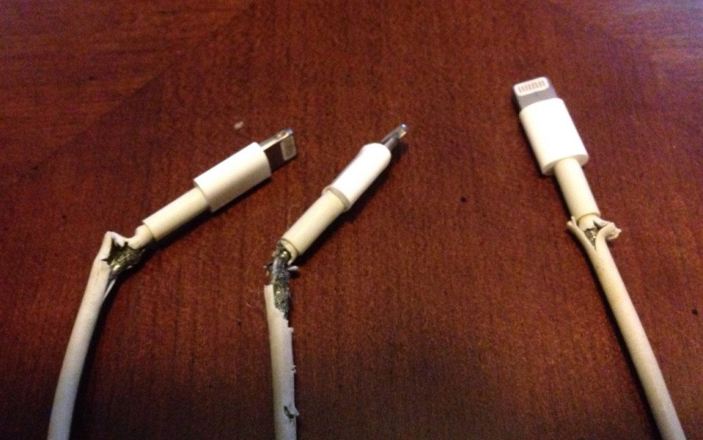 Broken iPhone Cables